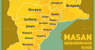 Neighborhood Map (Masan-happo gu, Masan-hoewon gu)