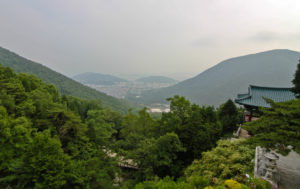 View of jinhae from sammilsa