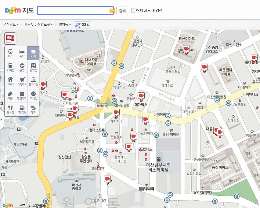 07daum-map-cafesearches - Changwonderful on
