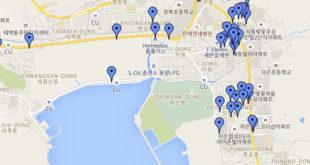 Jinhae Map