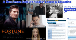 Fortune-A New Drama Series For English Language Education !