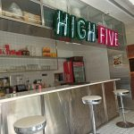 High Five -American-style burger Diner Changwon City, South Korea